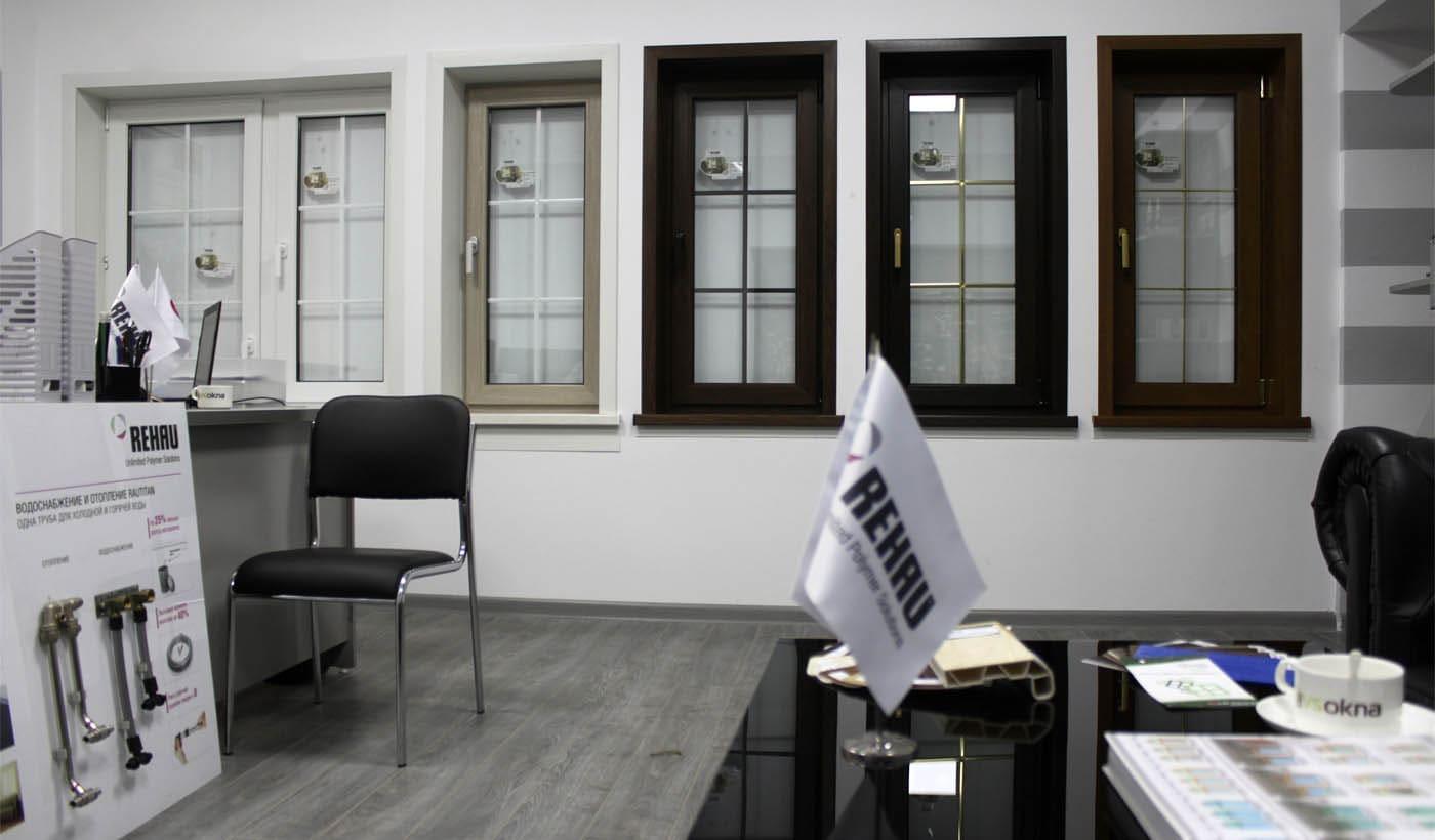 Финские алюминиевые окна